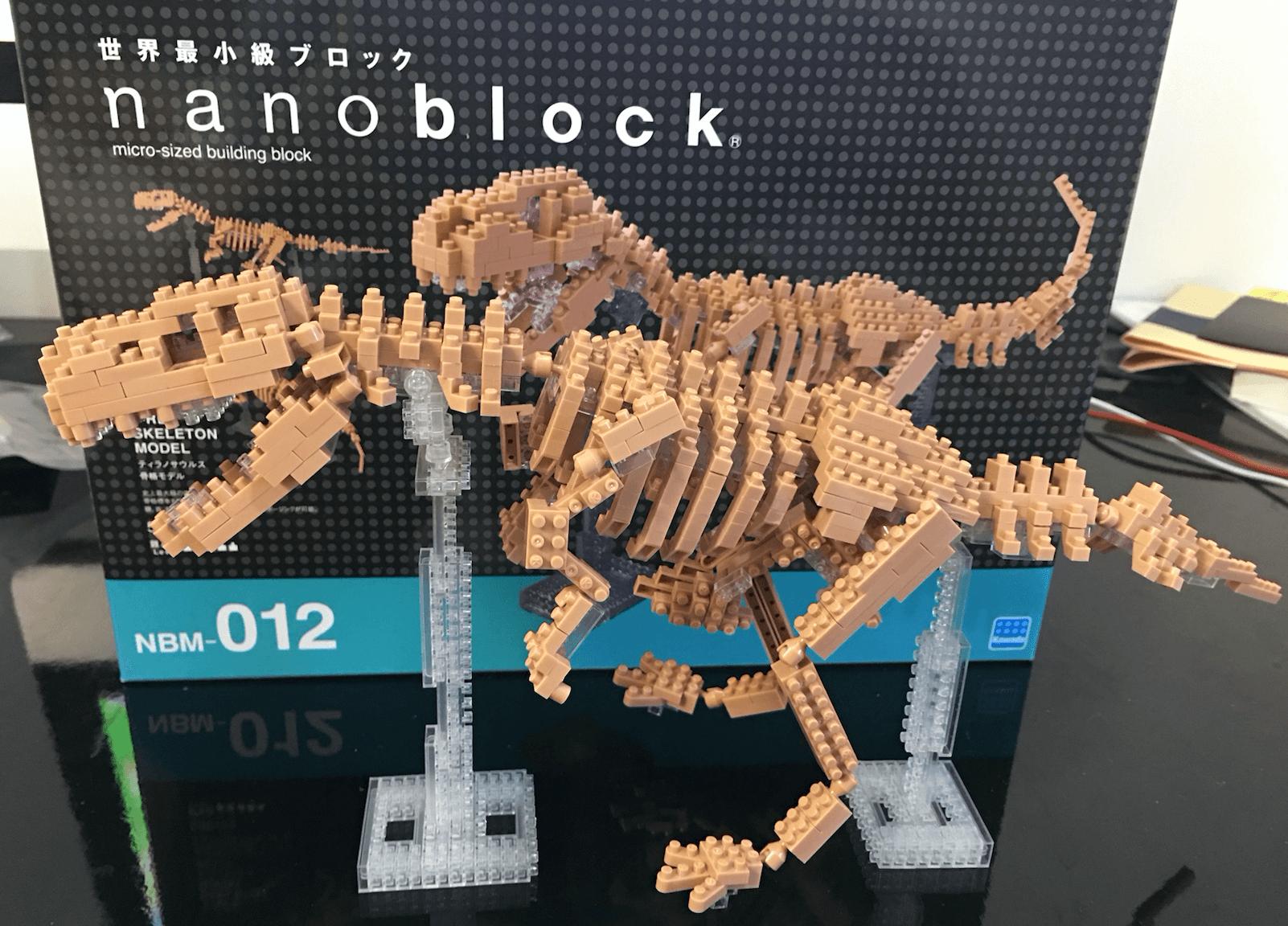 ナノブロック ティラノサウルス