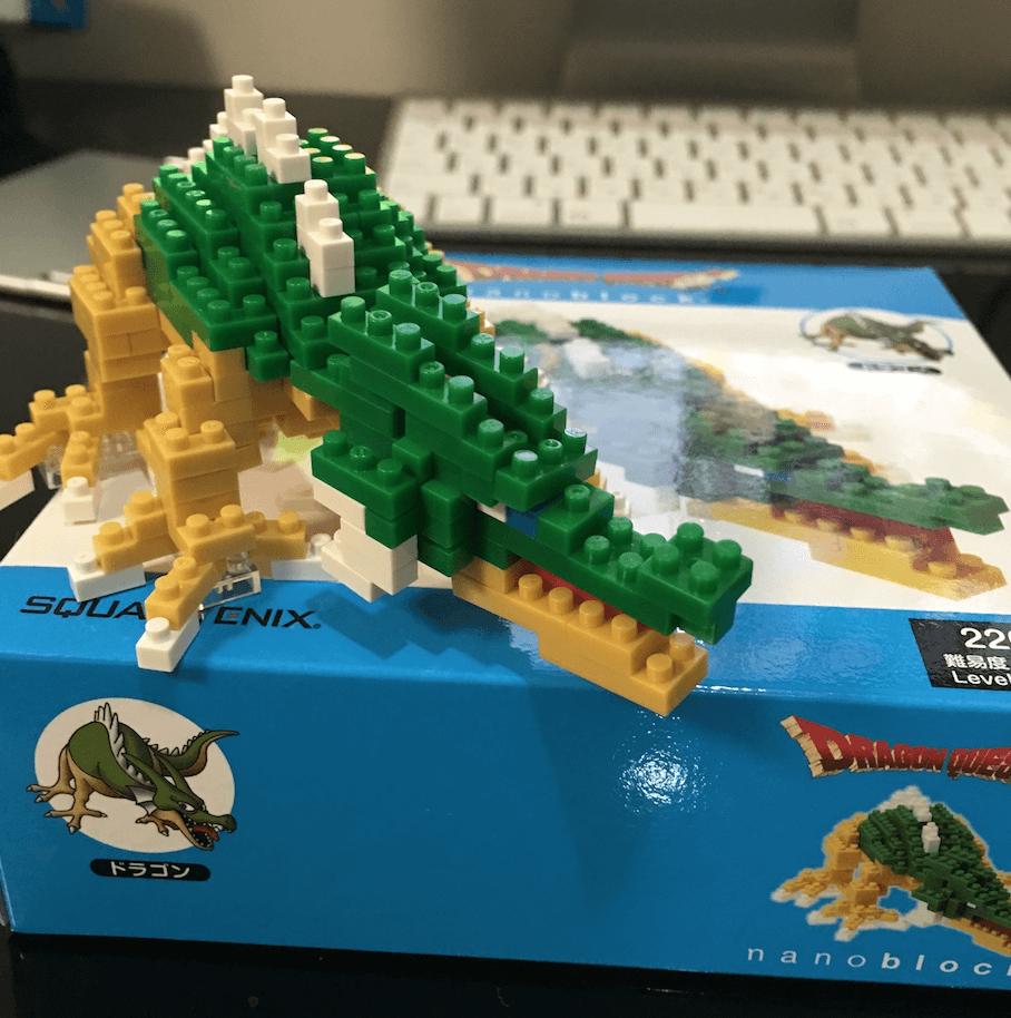 ナノブロック ドラゴン