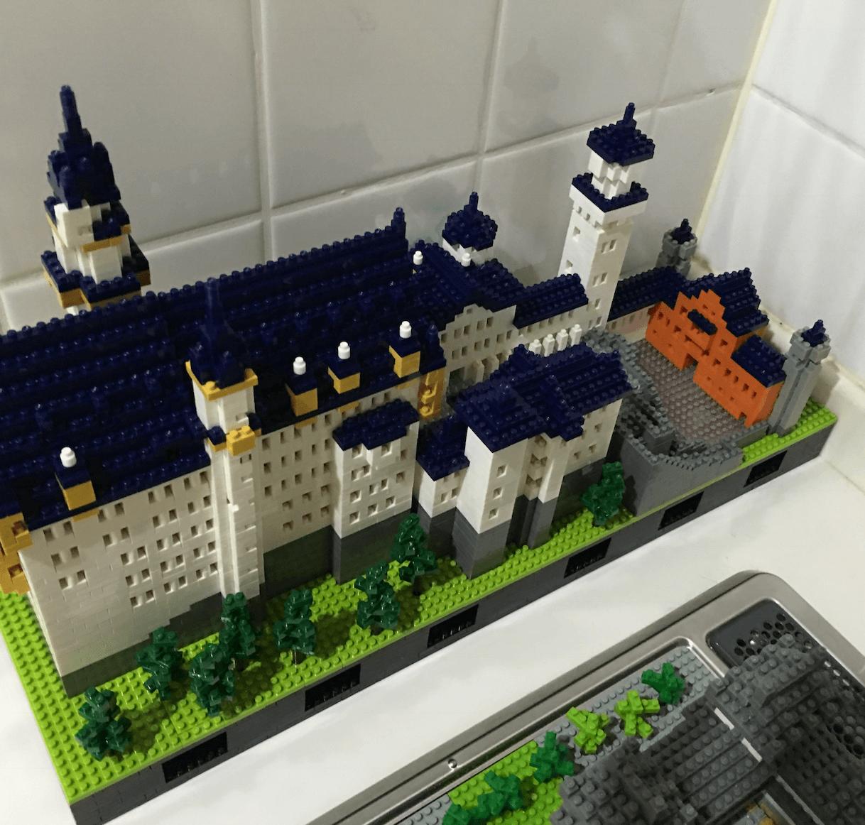 ナノブロック ノイシュバンシュタイン城