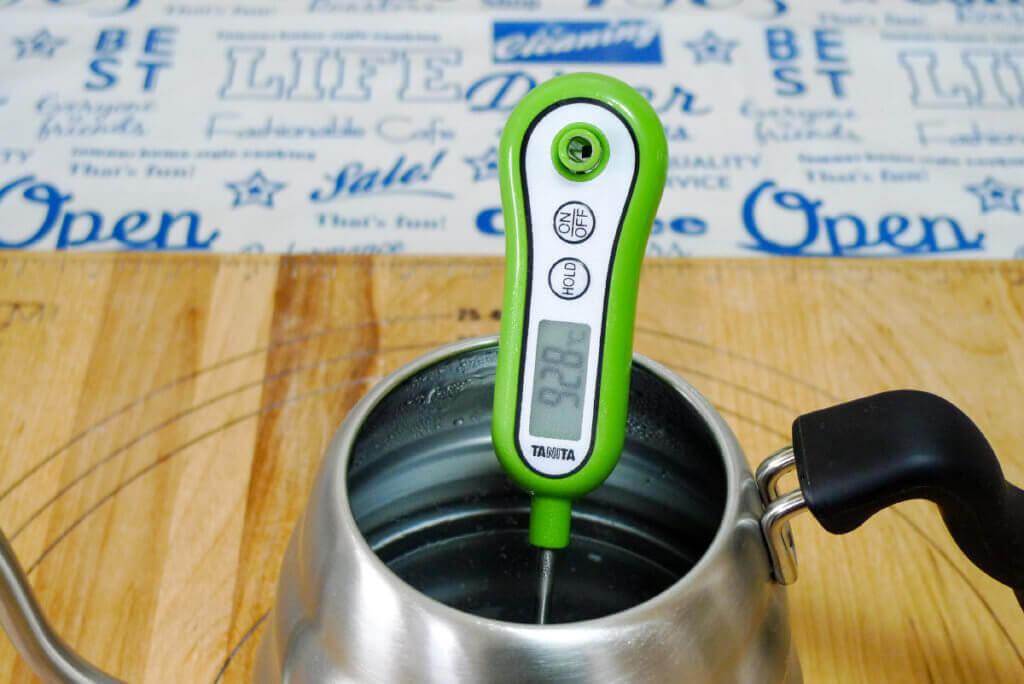 コーヒー 温度計