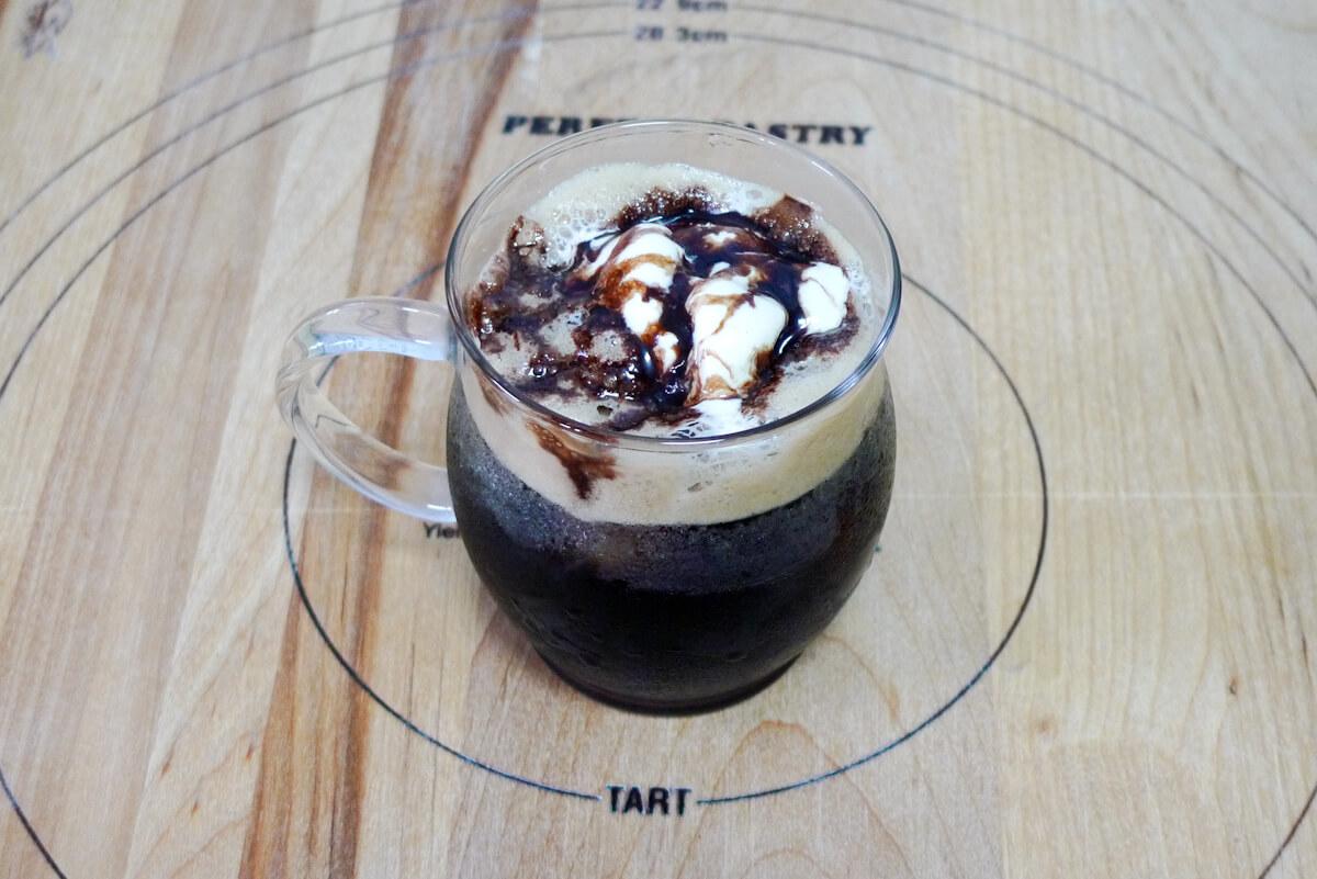 アイスクレマコーヒー コーヒーフロート