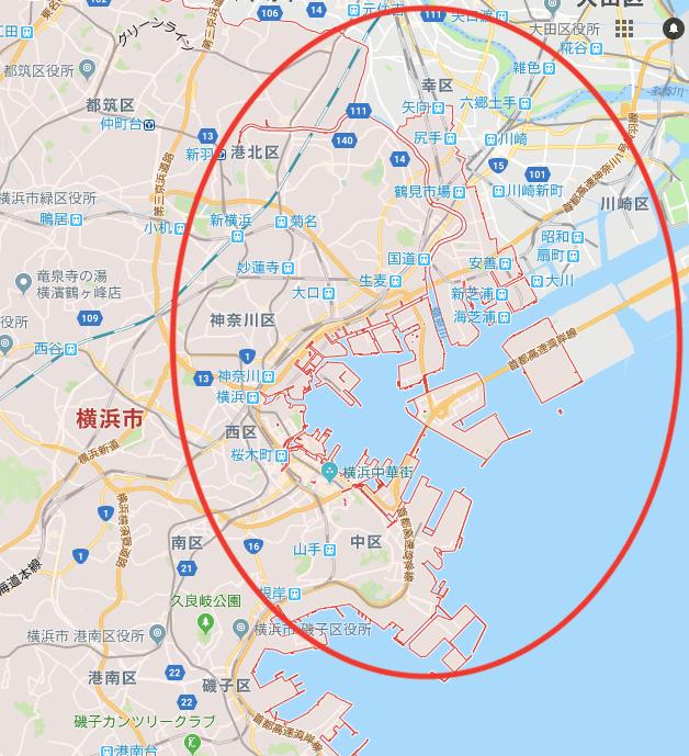 Uber Eats 横浜 川崎