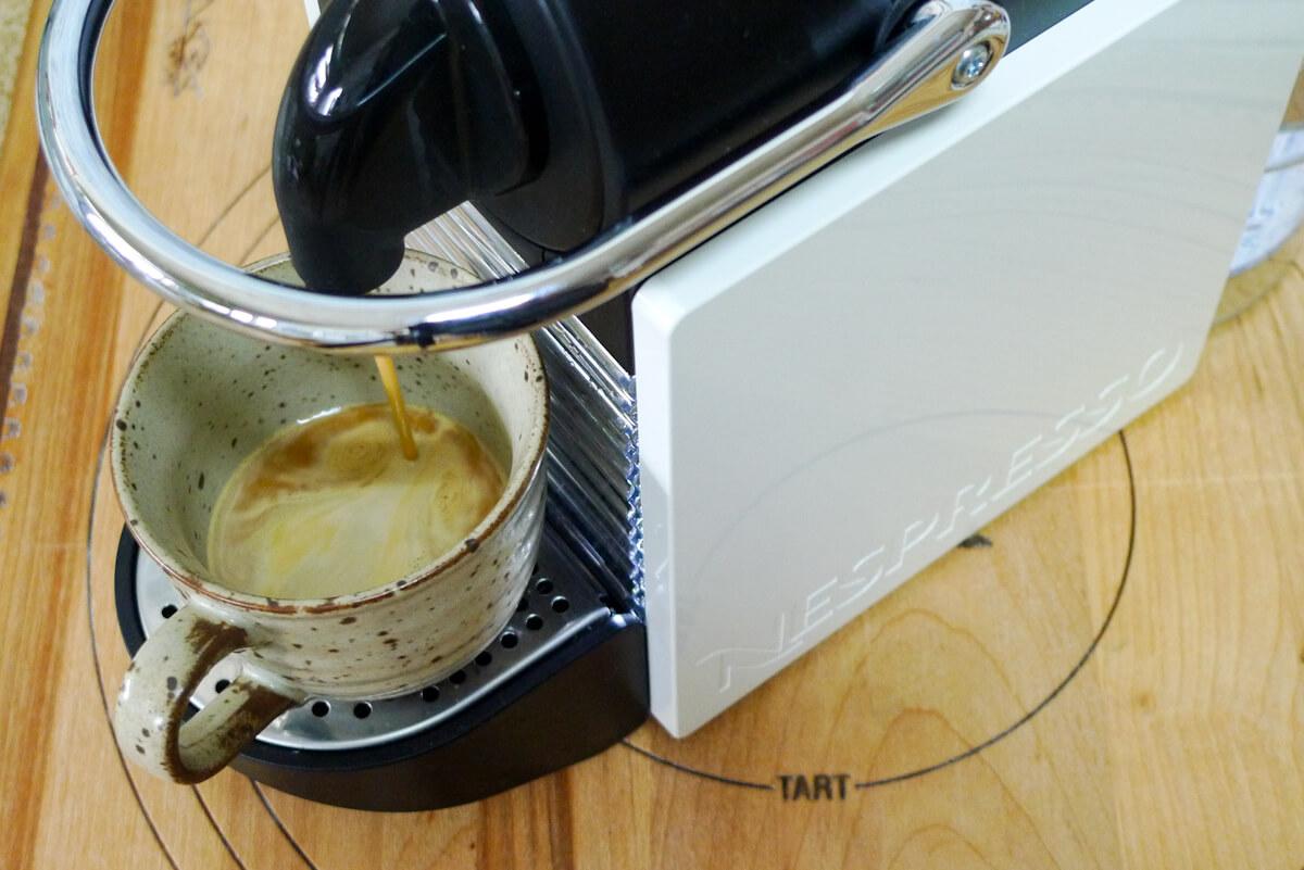 カフェラテ 作り方