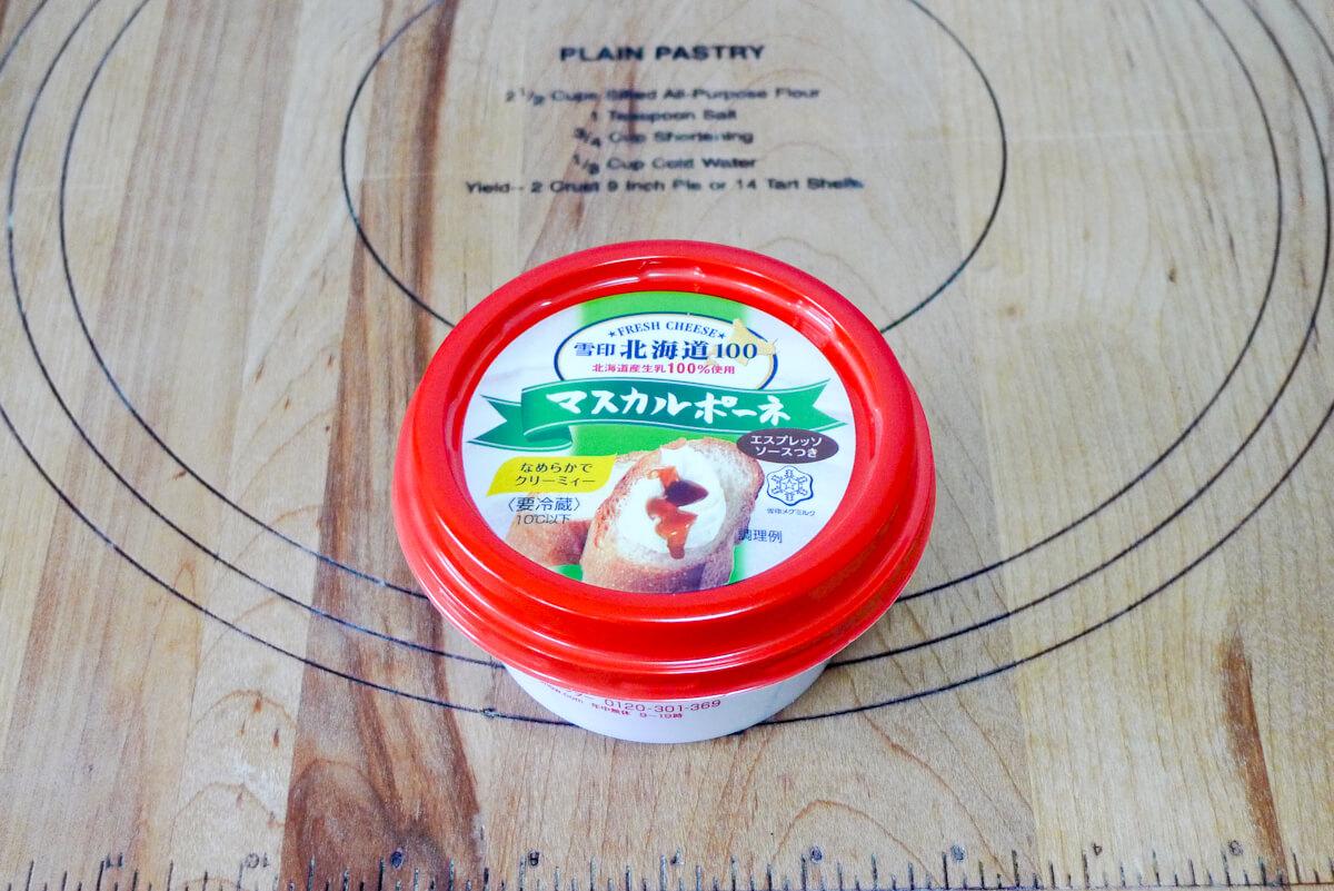 ティラミス マスカルポーネチーズ