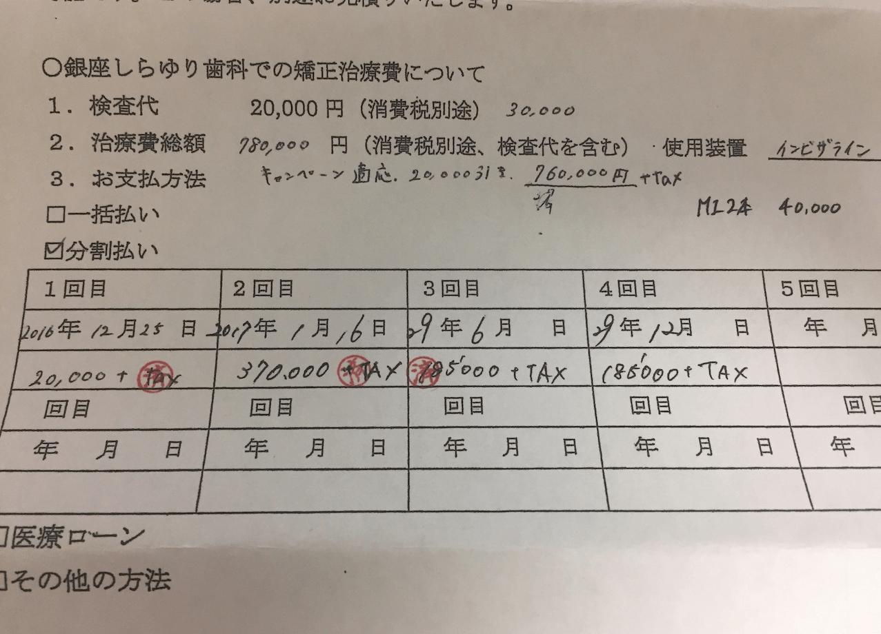 インビザライン 費用